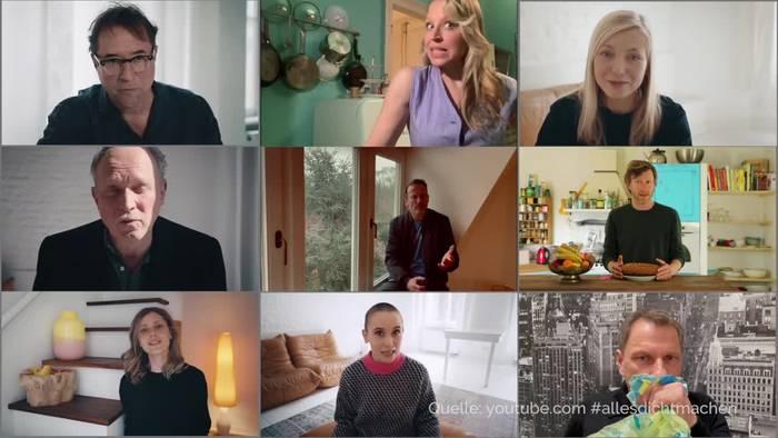 News video: Schauspieler sorgen mit #allesdichtmachen für Aufsehen