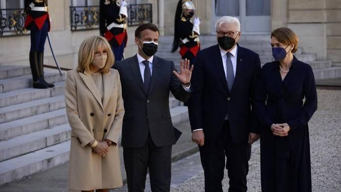 Video: Corona-Pandemie und Europa: Steinmeier bei Macron in Paris