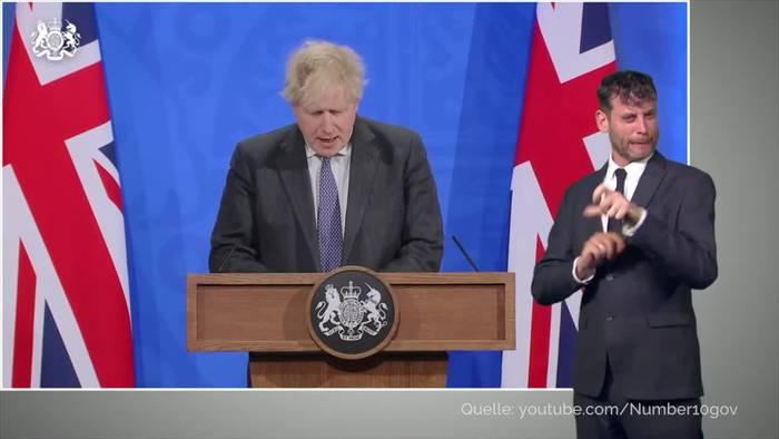 News video: Pietätlose Äußerung - Druck auf Boris Johnson wächst