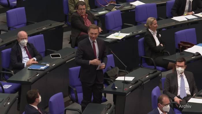 News video: FDP: Verfassungsbeschwerde gegen Corona-Notbremse eingelegt
