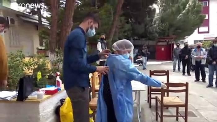News video: Orthodoxe Ostern: Schnelltests bis zur Auferstehung