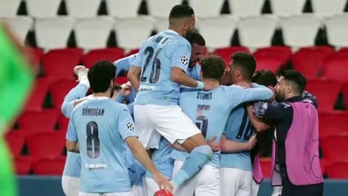 Video: Manchester City siegt in Paris 2:1