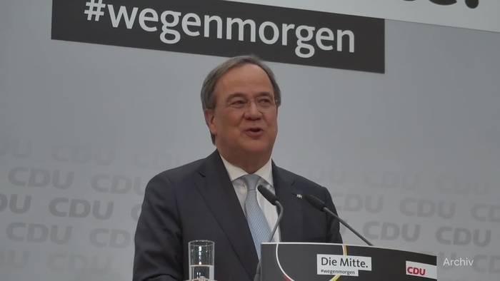 News video: Kanzlerkandidat Laschet holt Merz in sein Wahlkampfteam