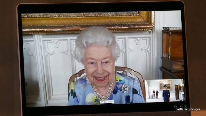 News video: Nach Tod von Prinz Philip: Hier strahlt die Queen wieder