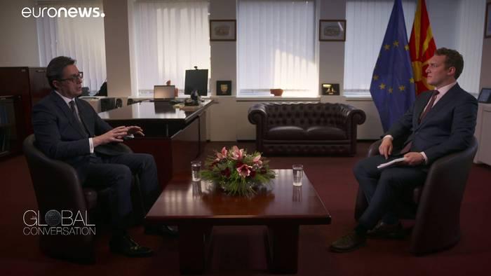 News video: Nordmazedonien fordert mehr EU-Präsenz auf dem Westlichen Balkan