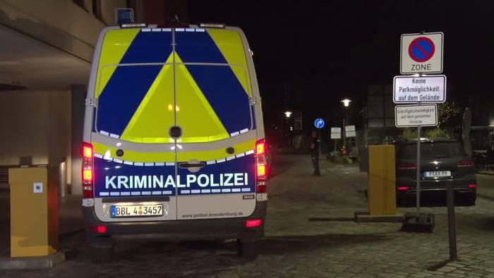 News video: Gewalttod in Potsdamer Klinik - Vierfacher Leichenfund