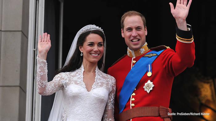 News video: Prinz William & Kate: Sie feiern ihren 10. Hochzeitstag: