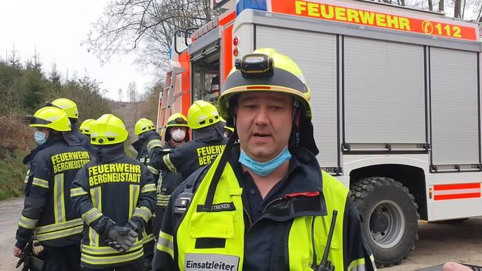 News video: 100 Einsatzkräfte: Waldbrand in Bergneustadt (NRW)!