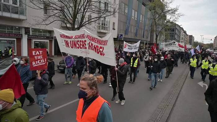 News video: Berlin vor dem 1. Mai - Friedlicher Protest im Wedding