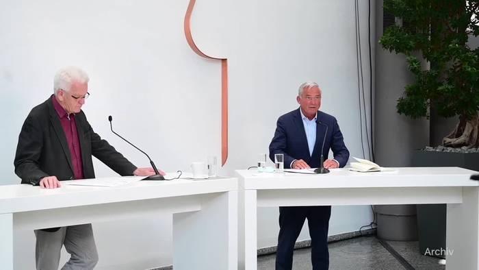 News video: Grün-schwarze Koalition in Baden-Württemberg steht