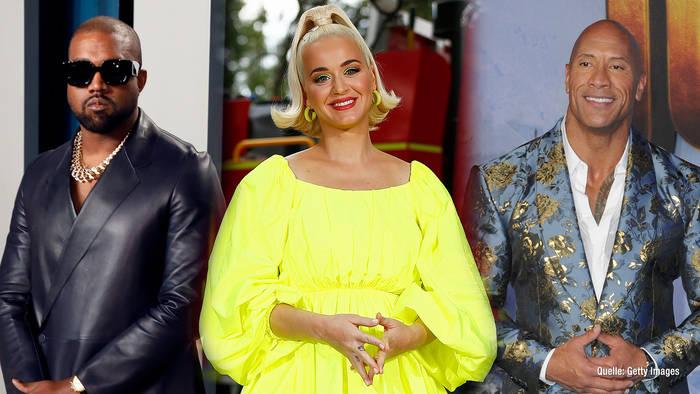"""Video: Katy Perry, """"The Rock"""" & Co. wollten schon US-Präsident werden"""
