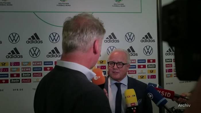 Video: Amateurvertreter fordern DFB-Boss Keller zu Rücktritt auf