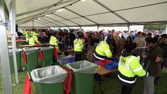 News video: Feiern für die (Corona)Freiheit: Testkonzerte in Liverpool