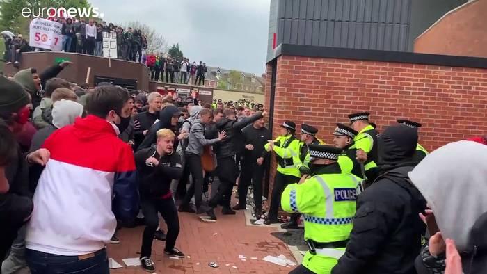 News video: Manchester United-Proteste: Johnson hat Verständnis