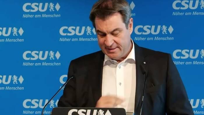 News video: Söder kündigt Öffnung von Grundschulen bis Inzidenz 165 an