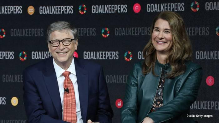 News video: Bill Gates & Frau Melinda geben Scheidung bekannt