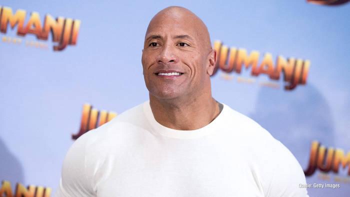 """News video: Dwayne """"The Rock"""" Johnson wurde für ein Mädchen gehalten"""