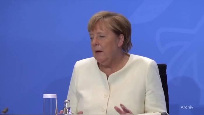 News video: Kreise: Merkel sieht bei Corona «Licht am Ende des Tunnels»