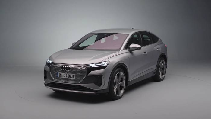 News video: Der Audi Q4 e-tron und der Q4 Sportback e-tron - Die Scheinwerfer