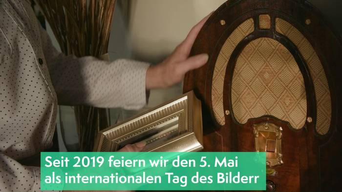 News video: Kunst: Tag des Bilderrahmens