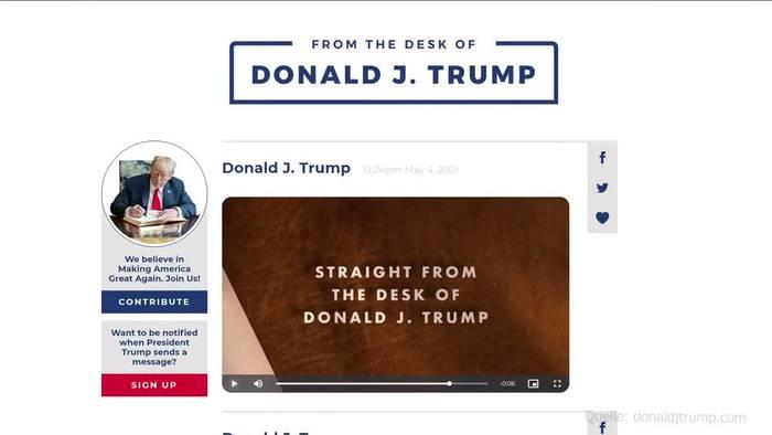 News video: Facebook-Aufsichtsgremium: Trump bleibt gesperrt