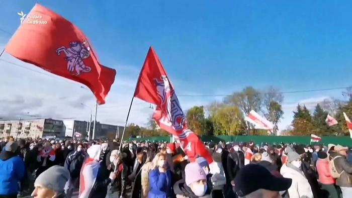 News video: Oppositioneller aus Belarus: