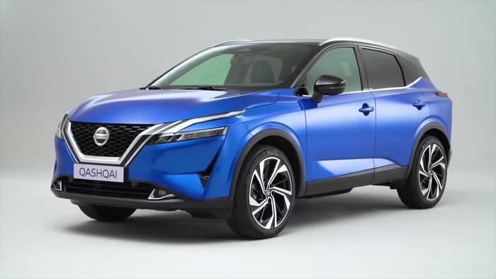 News video: Der neue Nissan Qashqai - Eleganz und Dynamik im Design