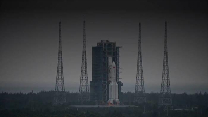 News video: Schrott aus dem All: Wo landet die chinesische Raumstation?