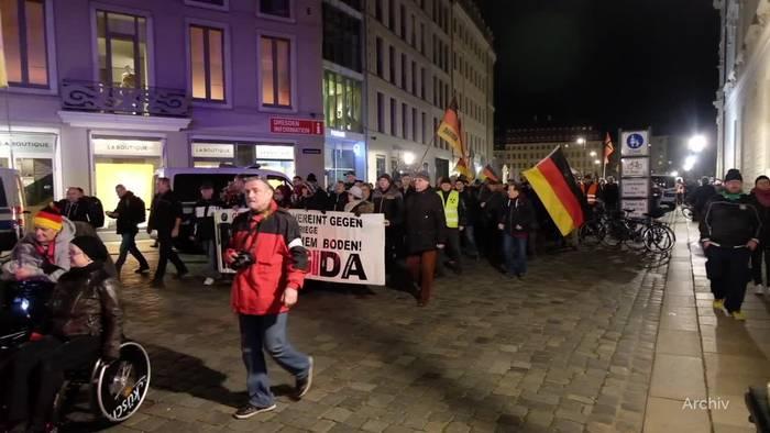 News video: Pegida als extremistische Bestrebung eingestuft