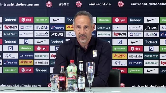 Video: Eintracht Frankfurts Trainer Adi Hütter: