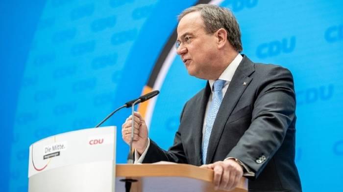 News video: Umfragetief der Union: CSU gibt Armin Laschet die Schuld
