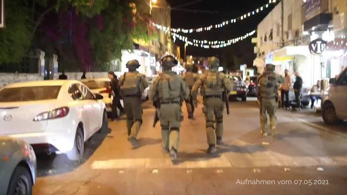 News video: Jerusalem: Erneut schwere Zusammenstöße am Tempelberg
