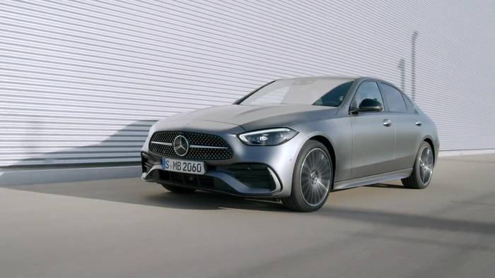 News video: Die neue Mercedes-Benz C-Klasse - Crashsicherheit