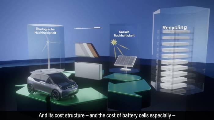 News video: Neue Zelltechnologie für Neue Klasse - BMW Group stärkt Batteriekompetenz als Teil der Initiative European Battery Innovation