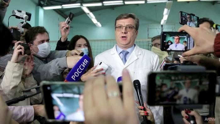 News video: Ehemaliger Nawalny-Chefarzt in Russland vermisst