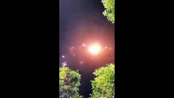 Video: Schwerste Raketenangriffe auf Tel Aviv seit Beginn des Nahostkonflikts