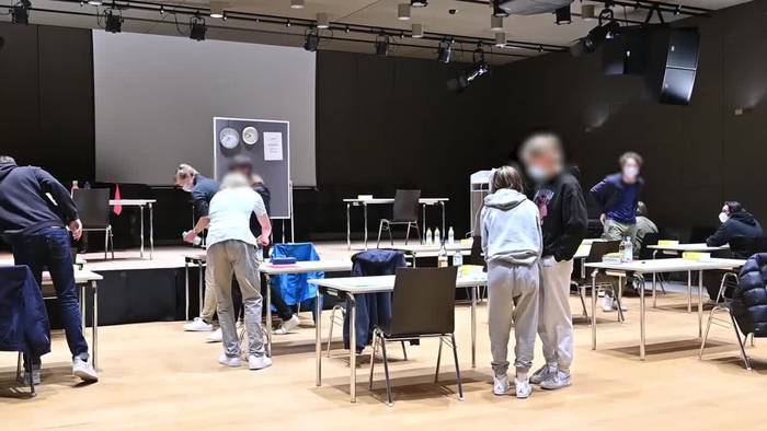 News video: Trotz Corona: Abitur-Start in Bayern