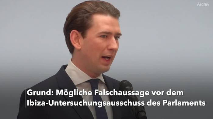 News video: Ermittlungen gegen Kanzler Kurz wegen Falschaussage