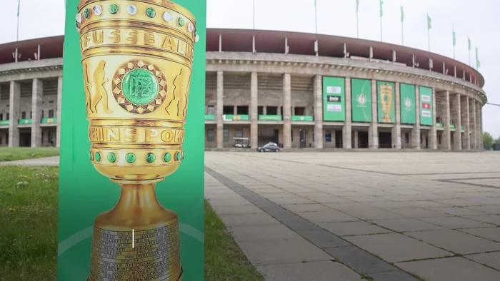 Pokalfinale 2021 Anpfiff