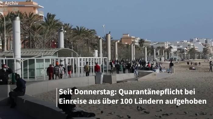News video: Urlaub ohne Quarantäne: Beschränkungen gelockert