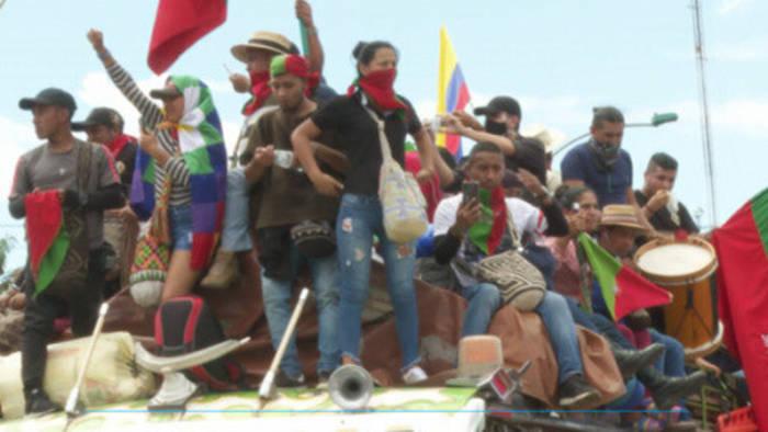 News video: Kolumbien: Proteste unter Lebensgefahr