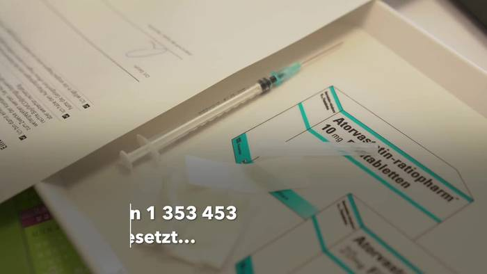 News video: Impfrekord: 1,35 Millionen Menschen an einem Tag geimpft