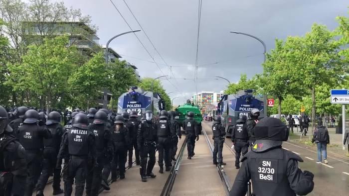 News video: Schwere Ausschreitungen beim Aufstieg von Dynamo Dresden