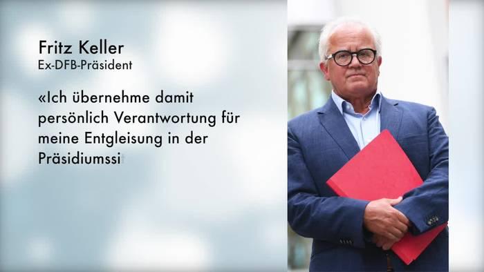 Video: DFB-Präsident Keller zurückgetreten