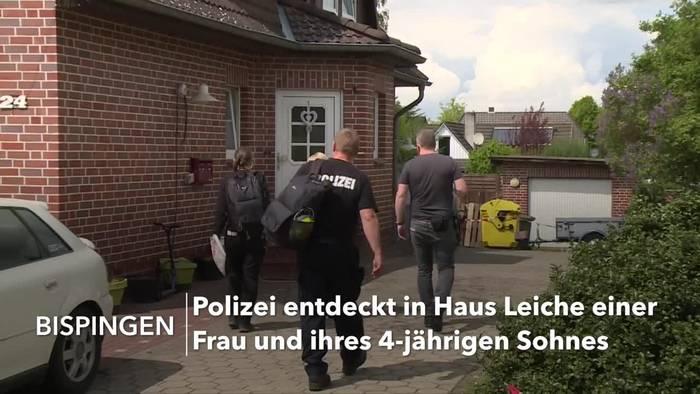 News video: Mutter und 4-jähriger Sohn tot aufgefunden: Mann in U-Haft
