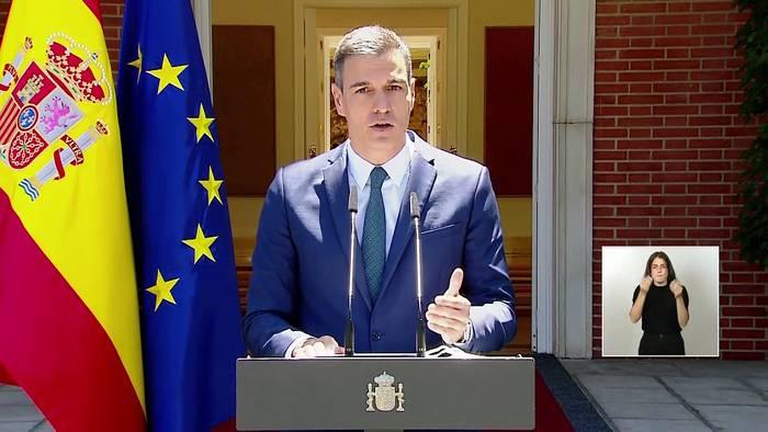 News video: Flucht in EU-Enklave: Marokko setzt Spanien mit Migranten unter Druck