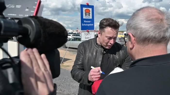 Video: Tesla-Chef Musk nicht mehr so reich