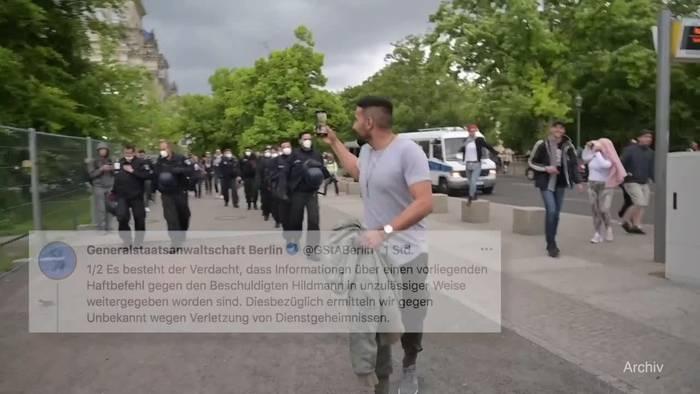 News video: Fall Hildmann: Staatsanwaltschaft ermittelt in eigenen