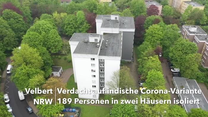 News video: Indische Coronavirus-Variante in Velbert - 189 Personen