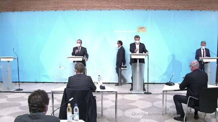 Video: Bayern: Lockerungen für Schulen, Kitas, Fitnessstudios